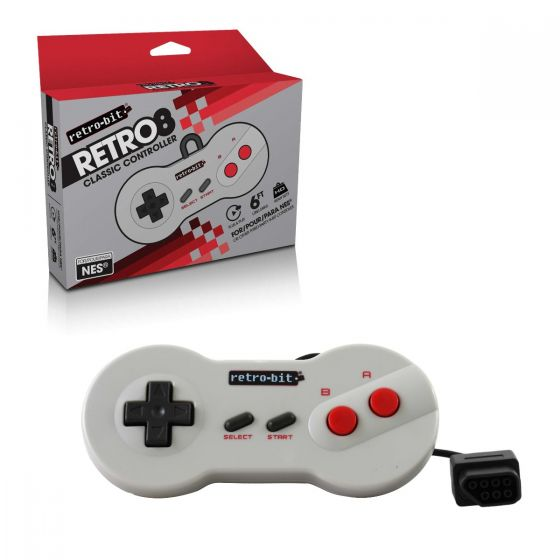 Wired Dogbone Shape Controller for NES®