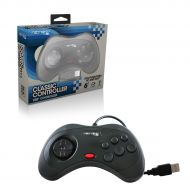 Saturn® Style  USB® Controller for PC / MAC® (Black)