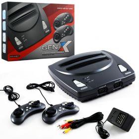 Gen-X™ Hybrid Twin Console - Genesis & NES 2-in-1 System