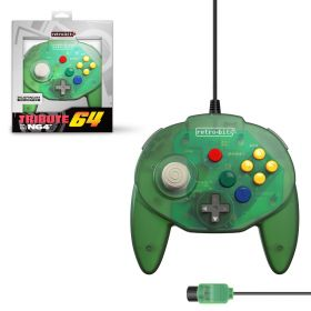 Tribute64 Controller - N64® Port - Forest Green