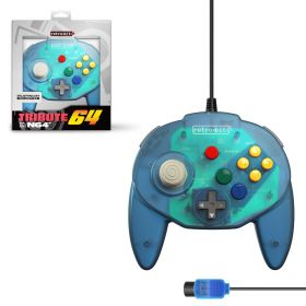 Tribute64 Controller - N64® Port - Ocean Blue