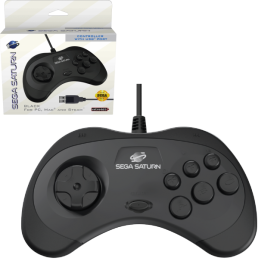 SEGA Saturn® Control Pad with USB® - Black