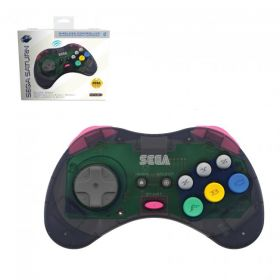 SEGA Saturn® Bluetooth® Wireless Control Pad - Slate Grey