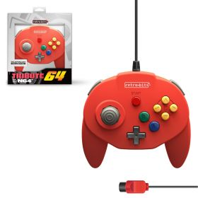 Tribute64 Controller - N64® Port - Red