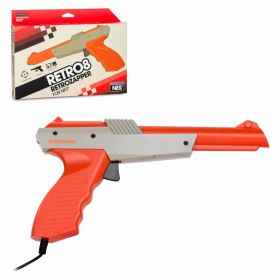 RetroZapper Gun (Grey/Orange)