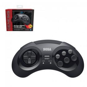 SEGA Genesis Bluetooth Control Pad - Black