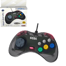 SEGA Saturn® Control Pad with USB® - Slate Grey