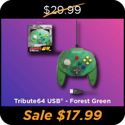 Tribute64, USB, Forest Green, Black Friday