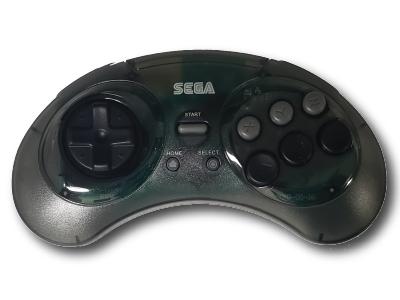 SEGA Genesis, 2.4 GHz, Wireless, Smoke, 8 button, Arcade, usb