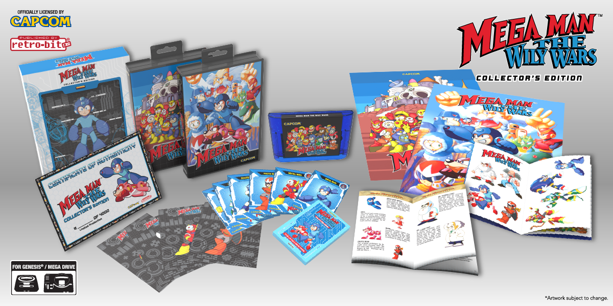 Mega Man: The Wily Wars CE - Collection Spread