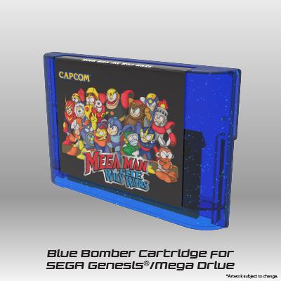 Mega Man: The Wily Wars CE - Blue Bomber Cartridge
