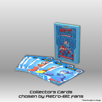 Mega Man: The Wily Wars CE - Collectors Cards