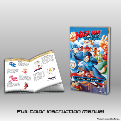 Mega Man: The Wily Wars CE - Full-color Instruction Manual