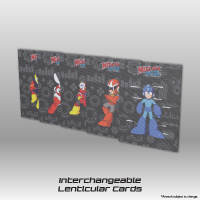 Mega Man: The Wily Wars CE - Interchangeable Lenticular Cards