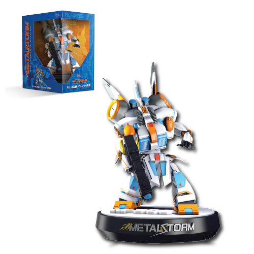 Metal Storm, M-308 Gunner, Mech, Figurine, Collector's Edition