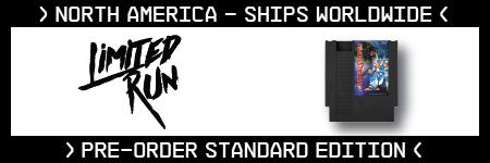 Metal Storm, Standard Edition, Irem, Retro-Bit, Limited Run Games, Twilight Black