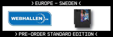 Metal Storm, Standard Edition, NES, Irem, Retro-Bit, Europe, Webhallen