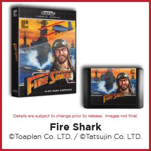 Fire Shark, Toaplan, Tatsujin, Genesis, Mega Drive