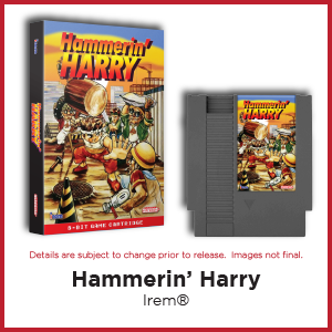 Hammerin' Harry, Irem, NES