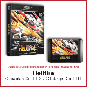 Hellfire, Toaplan, Tatsujin, Genesis, Mega Drive
