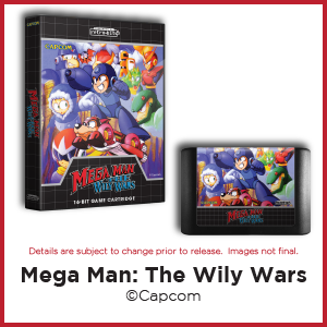 Mega Man: The Wily Wars, Capcom, Genesis, Mega Drive