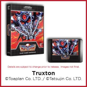Truxton, Toaplan, Tatsujin, Genesis, Mega Drive
