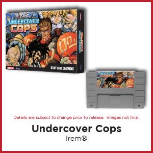 Undercover Cops, Irem, SNES