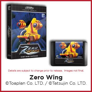 Zero Wing, Toaplan, Tatsujin, Genesis, Mega Drive