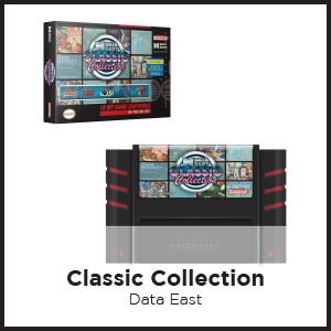 Data East, Classic Collection, NES