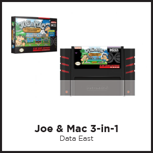 Joe and Mac, Caveman Collection, SNES, 3-in-1, Congo's Caper