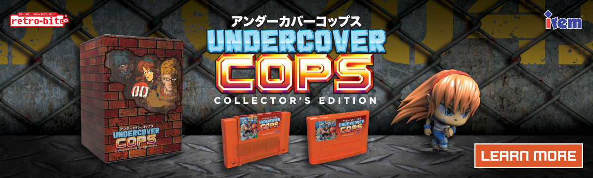 Retro-Bit Publishing - Undercover Cops
