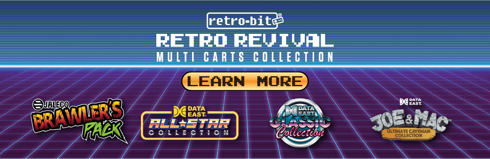 Retro Revival, NES, SNES, Multi-Cart, Data East, Jaleco