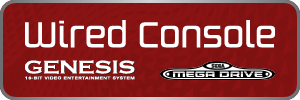 SEGA Genesis/Mega Drive - Wired Console Controllers