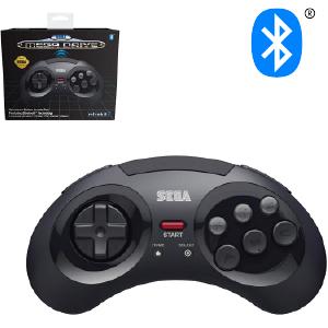 SEGA Megadrive Bluetooth Control Pad - Black (EU)