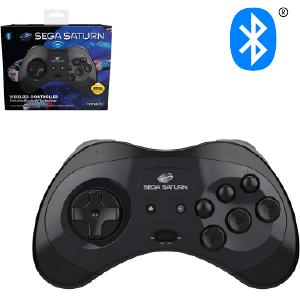 SEGA Saturn Bluetooth Control Pad - Black (EU)