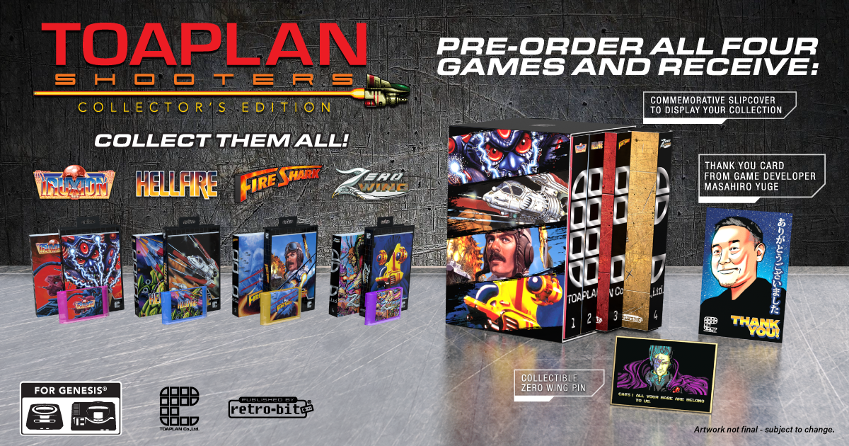 Toaplan Shooters Collector's Edition - Pre Order Bundle