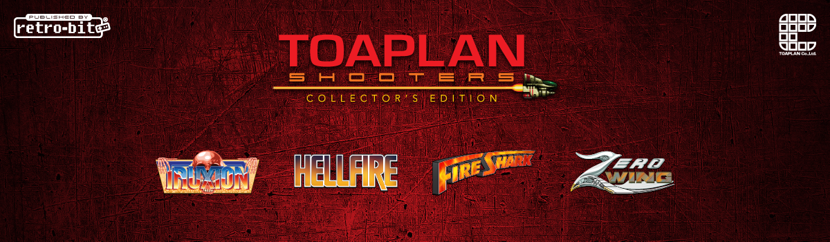 Retro-Bit x Toaplan Shooters Collector's Edition
