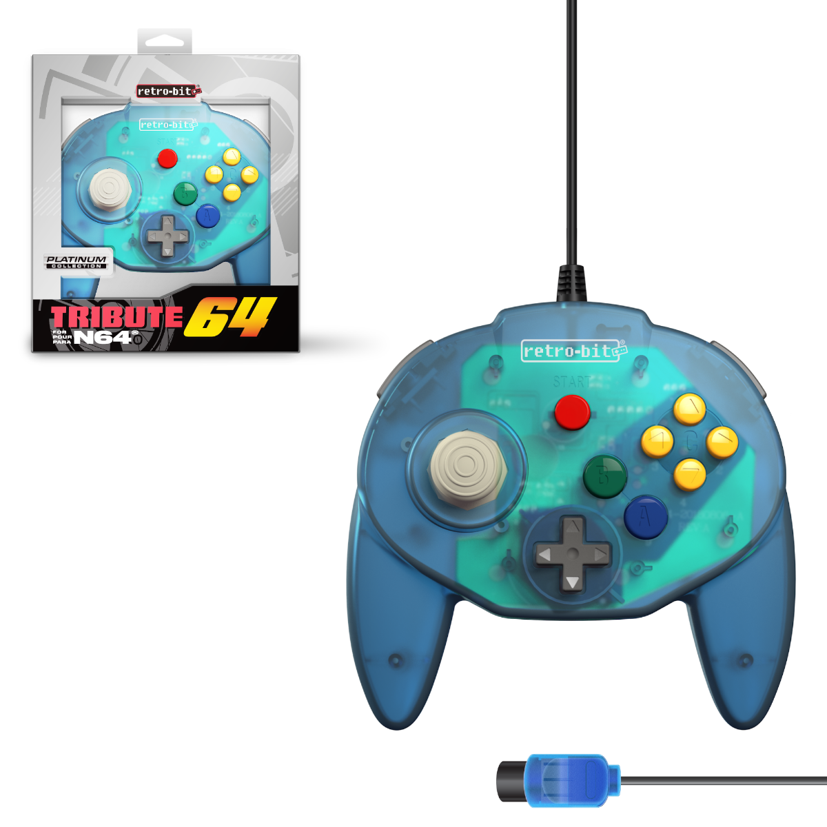 Tribute64, Ocean Blue, N64, nintendo 64, tribute