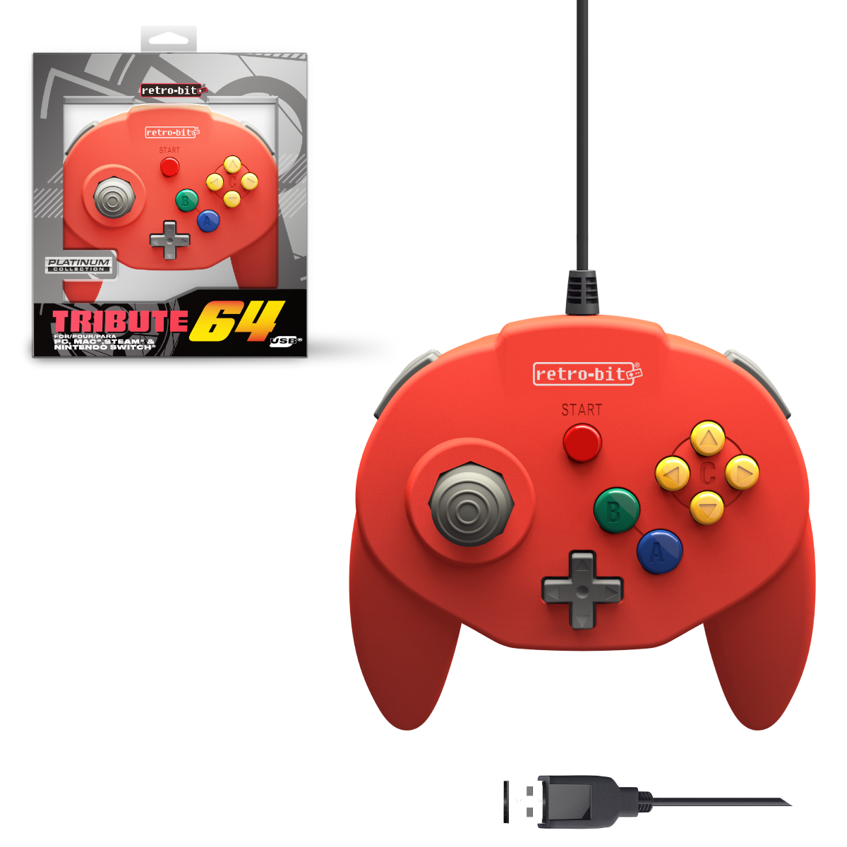 Tribute64 - Red USB