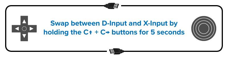 T64 Input Swap