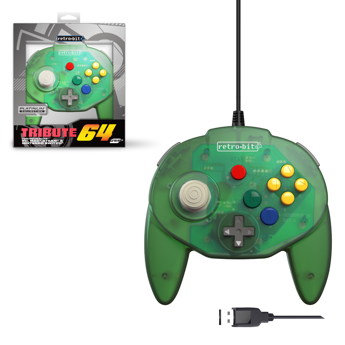 Tribute64 - EU Forest Green USB