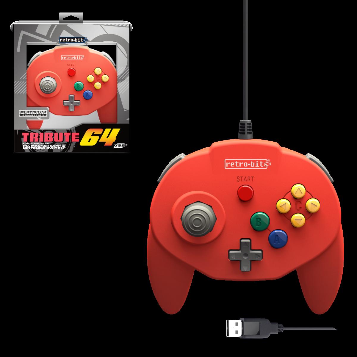 Tribute64 - EU Red USB