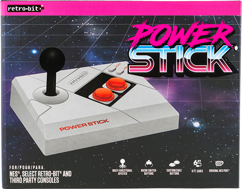 Retro-Bit Power Stick Packaging