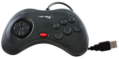 Retrolink Saturn Styled USB Controller
