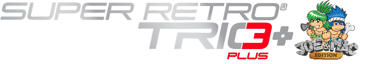 Retro-Bit Super Retro Trio Plus: Joe & Mac Edition