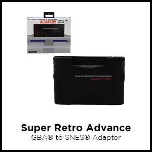 Super Retro Advance, GBA, SNES, GB, Game Boy, SGB, adapter