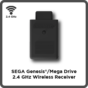 SEGA, Genesis, Mega Drive, 2.4 GHz, wireless, receiver, firmware, update
