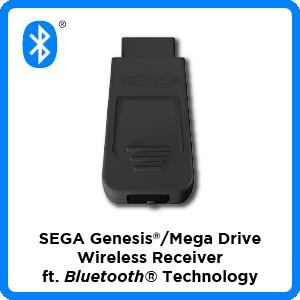 SEGA, Genesis, Mega Drive, Bluetooth, wireless, receiver, firmware, update