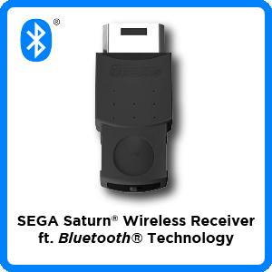 SEGA, Saturn, Bluetooth, wireless, receiver, firmware, update