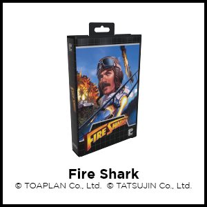 Fire Shark, SEGA Genesis, SEGA Mega Drive, Toaplan, Tatsujin